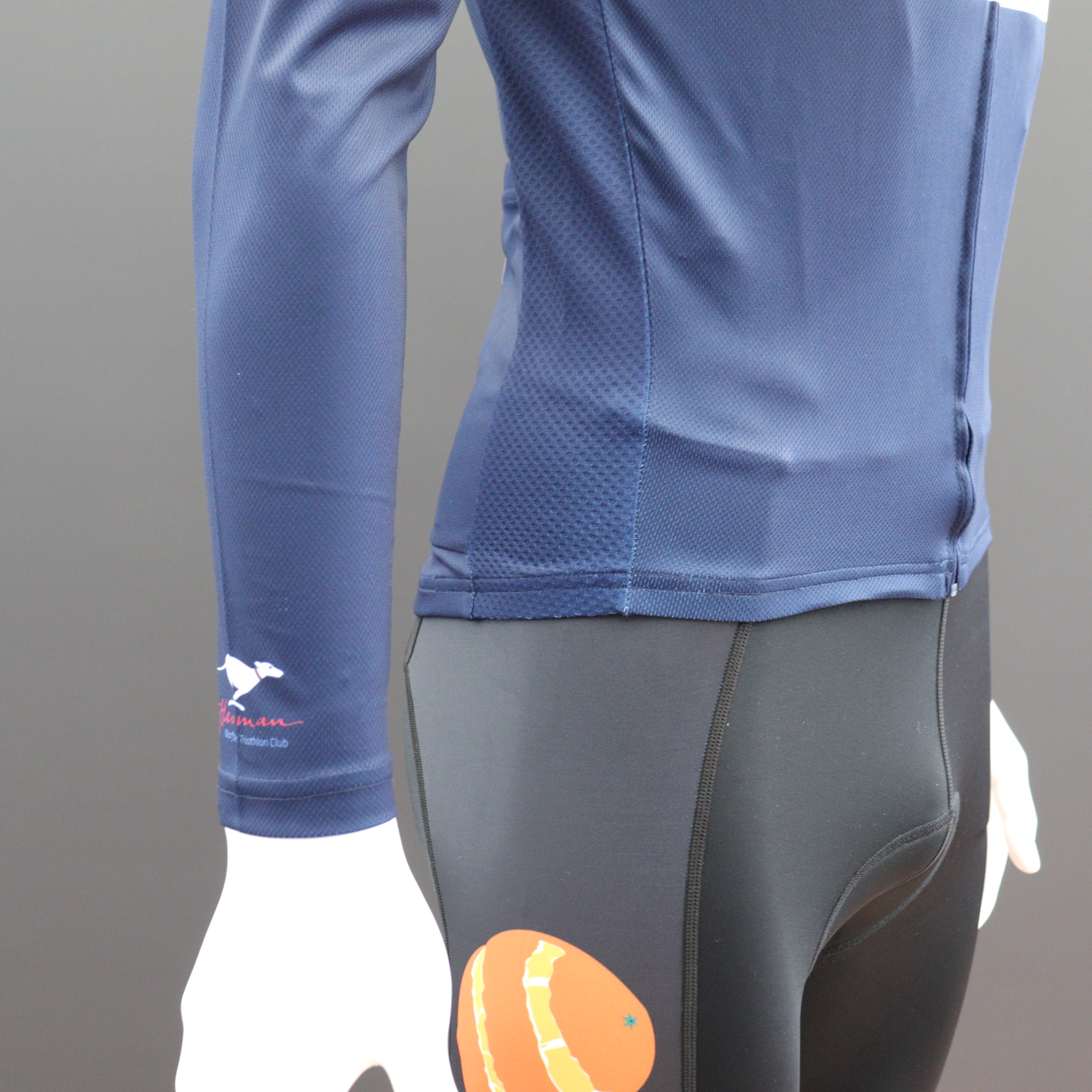 Long Sleeve Classic Cycle Jerseys - Comfort Waist