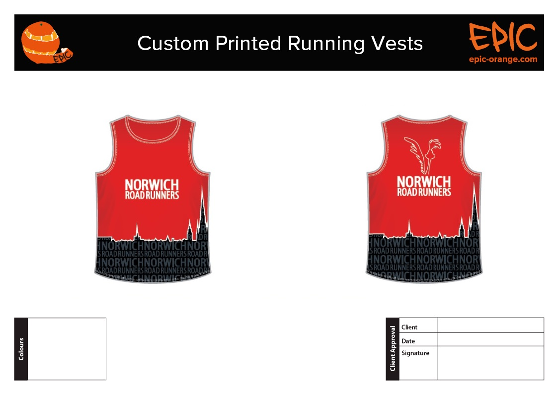 Custom Running Vests
