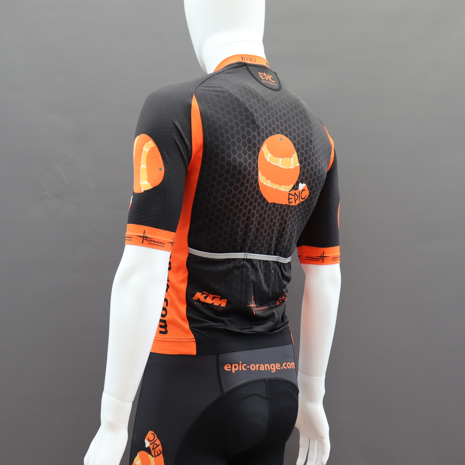 Custom Printed Euro Pro Cycle Jerseys
