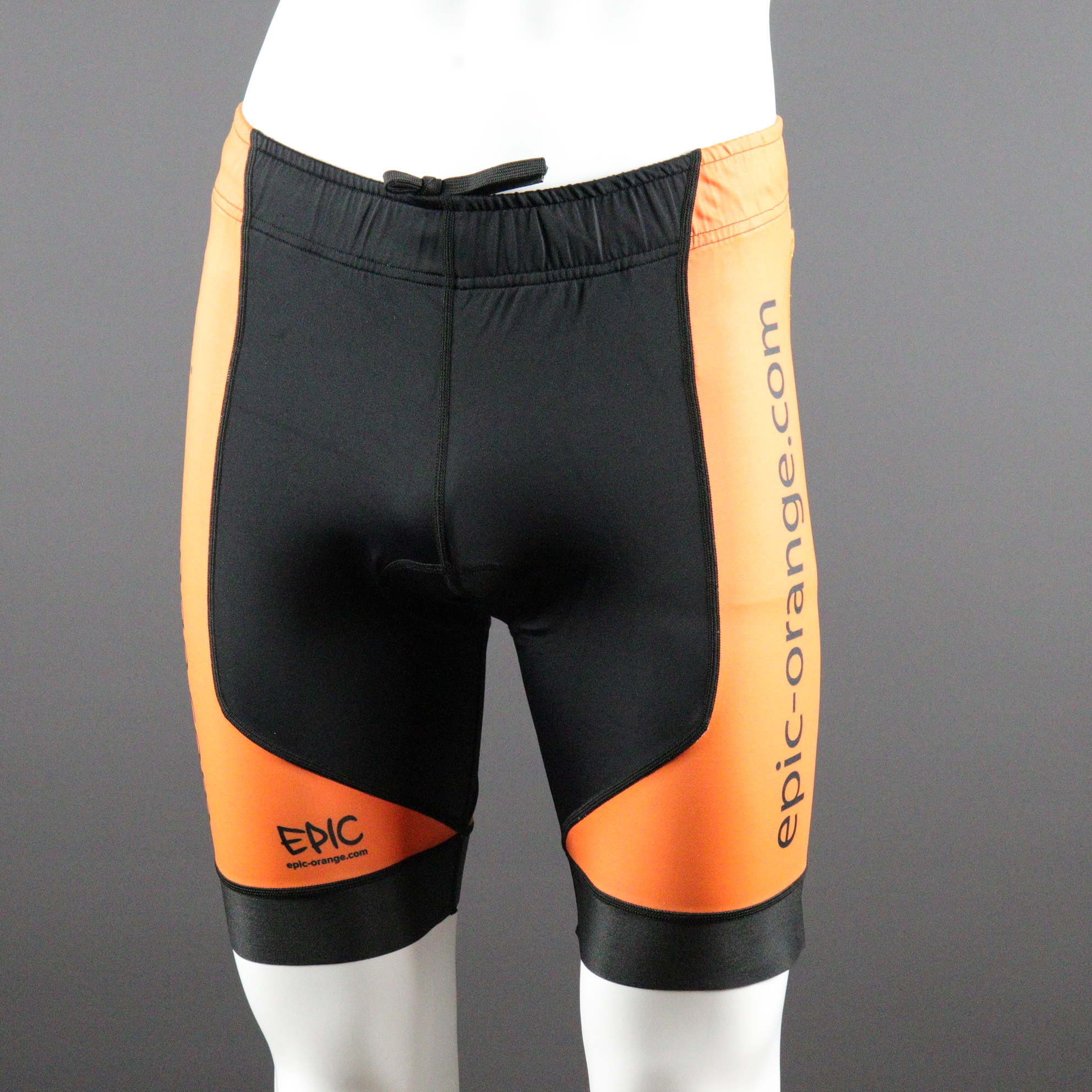 Endurance Tri Shorts - Corded closure.