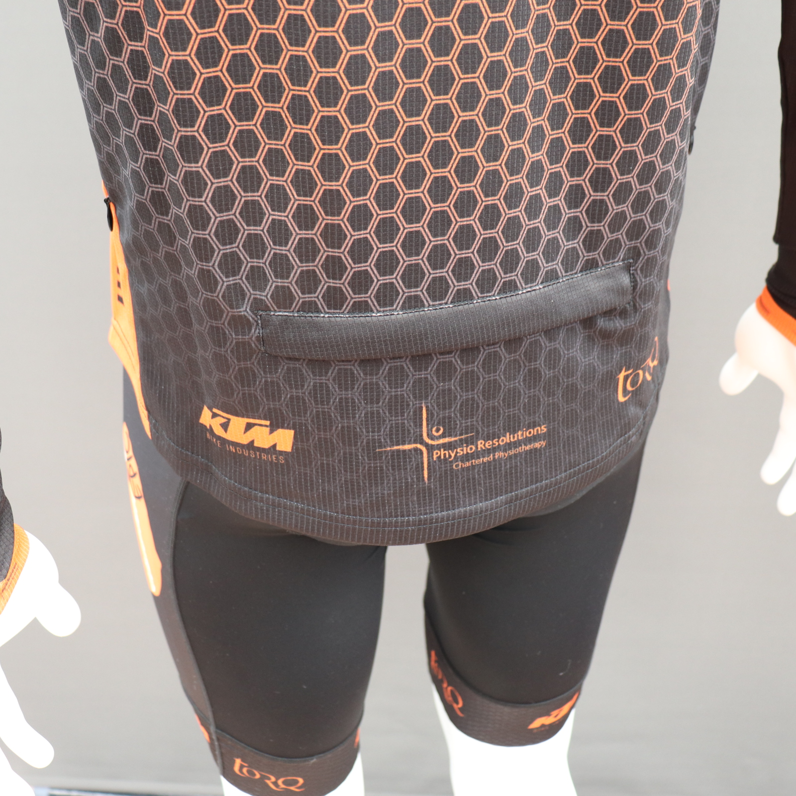 Custom MTB Jerseys Large Rear Pocket