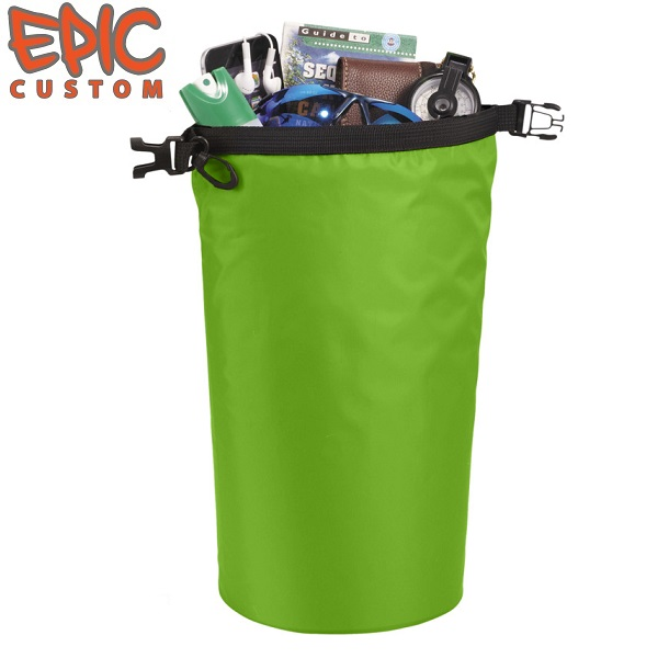 Printed Dry Bags 10 litre Capacity GREEN