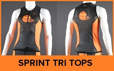 Custom Triathlon Tops Sprint