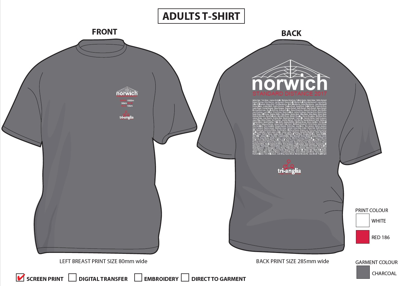 Printed Performance T-Shirts