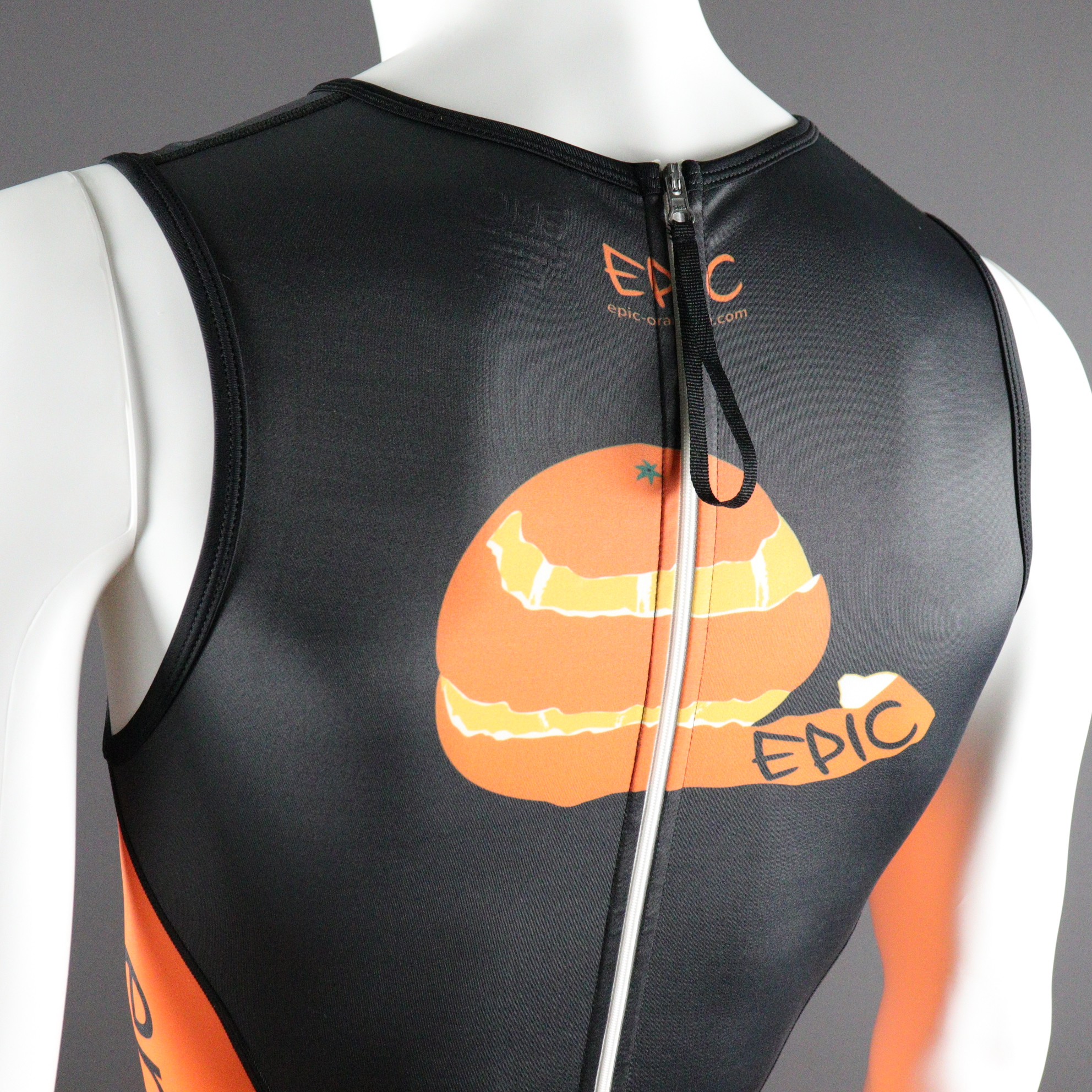 Sprint Tri Suits - Rear Zip with puller