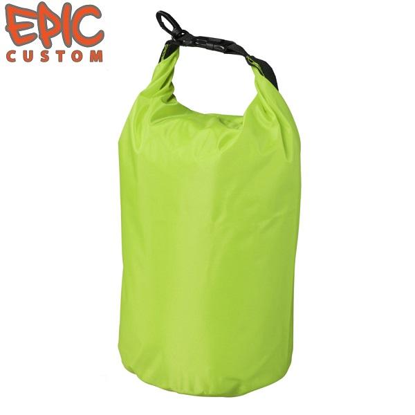 Printed Waterproof Dry Bags 10 litre GREEN