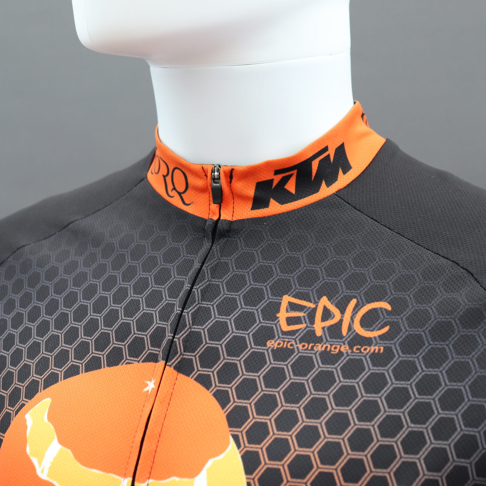 Custom Classic Cycle Jerseys Collar