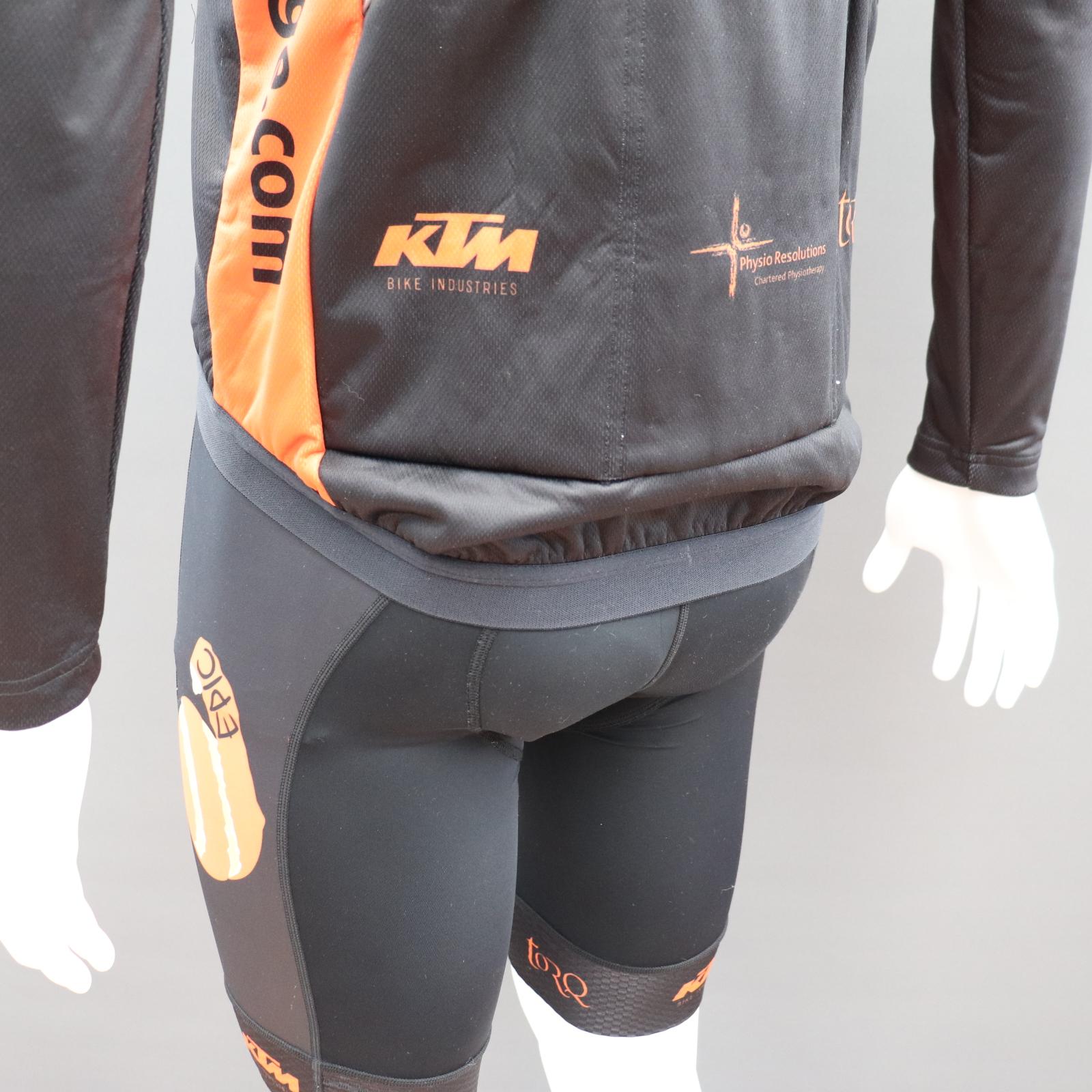 Sub Zero Custom Cycling Jackets - Drop Tail