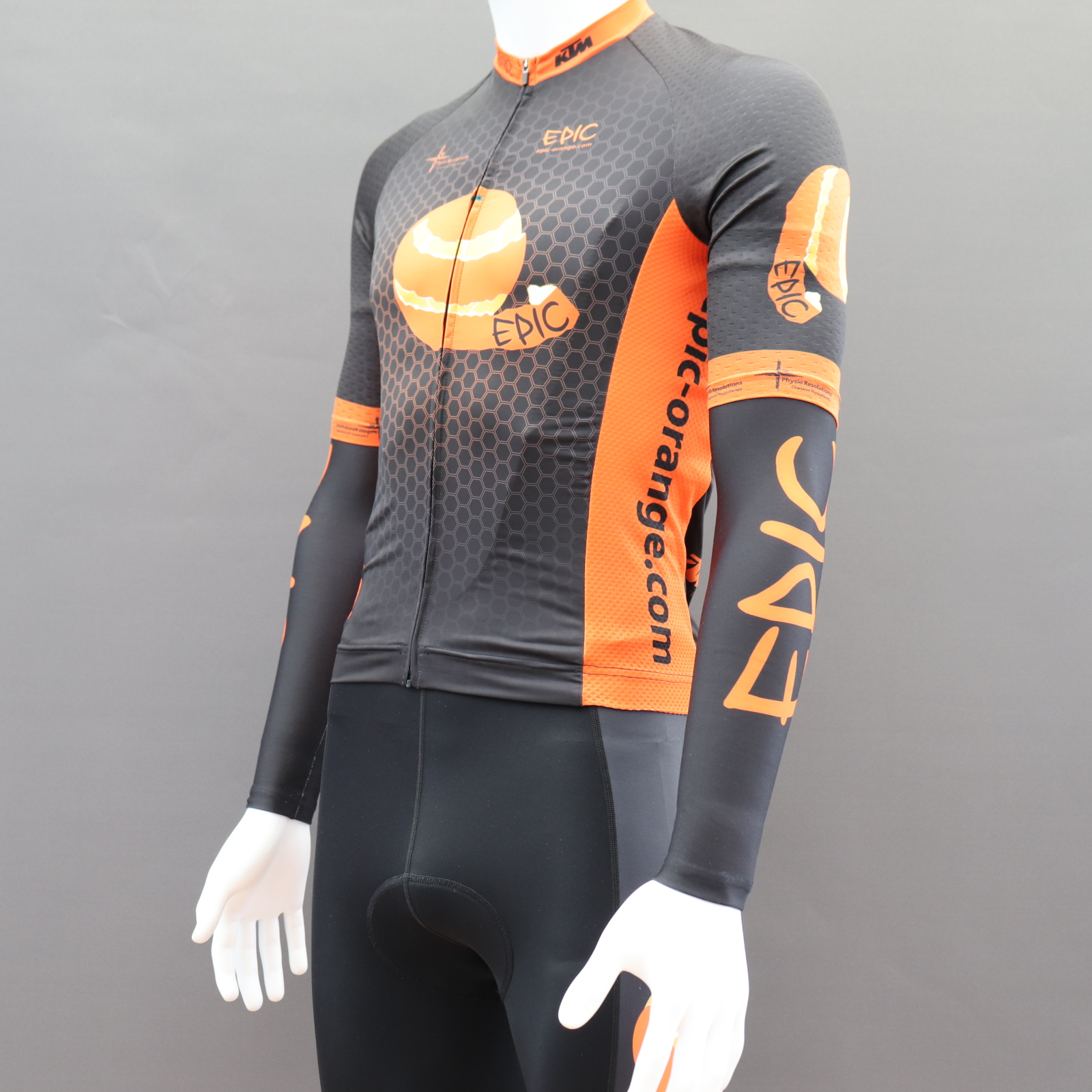 Custom Roubaix Thermal Cycling Arm Warmers