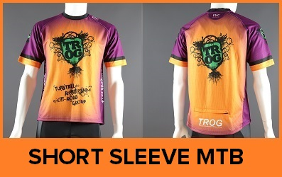 Custom Printed Short Sleeve MTB Jerseys