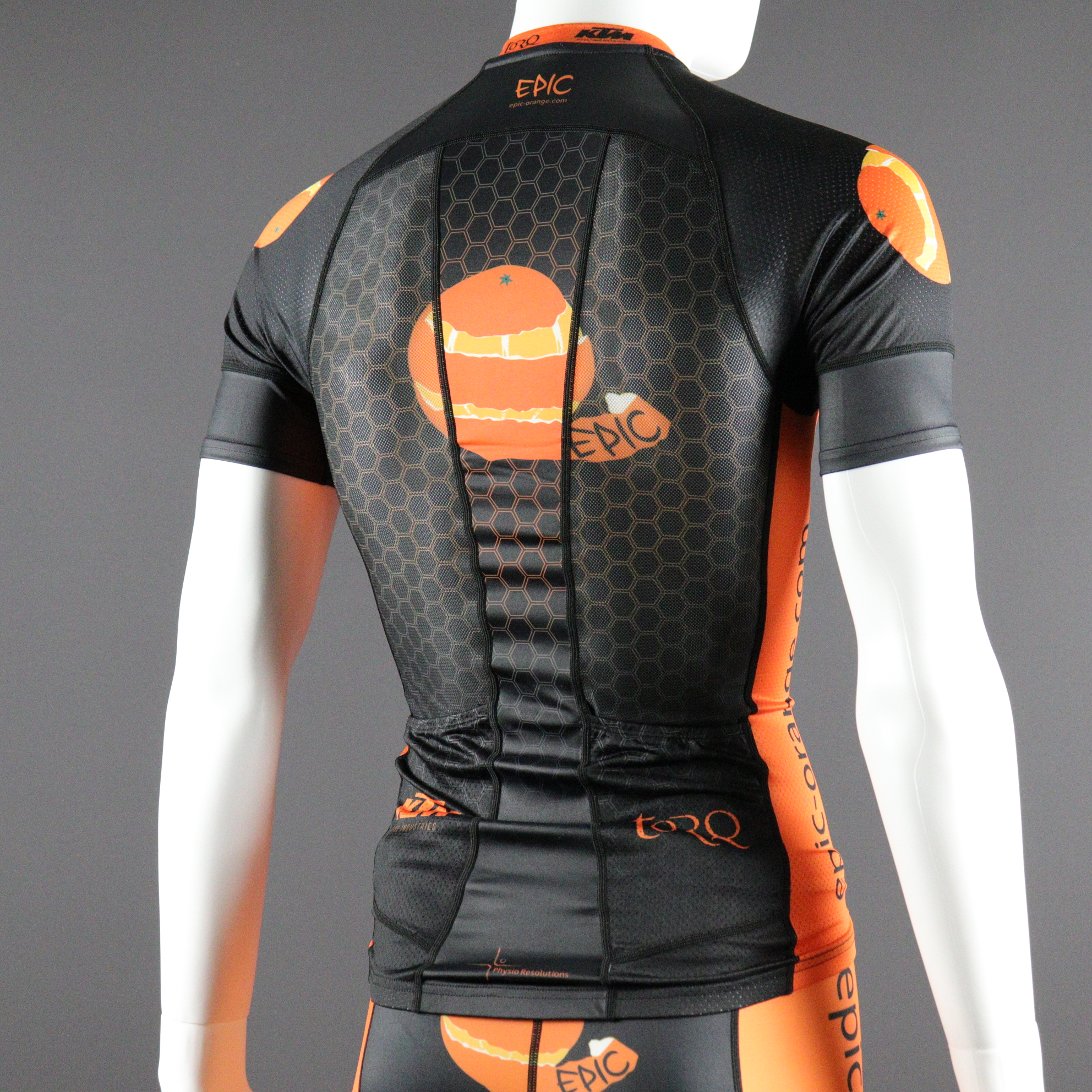Custom Printed Short Sleeved Triathlon Tops