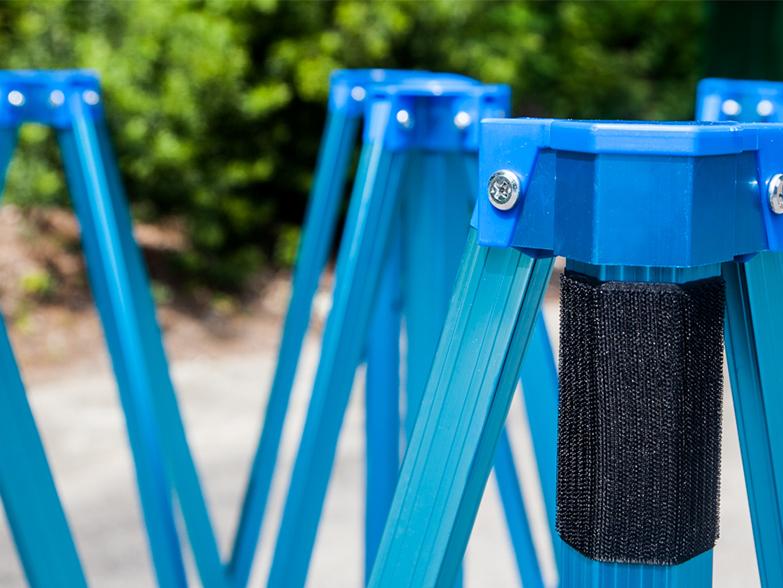 Epic 50 Gazebo Frame Anodised Blue