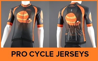 Custom Printed Pro Cycle Jerseys