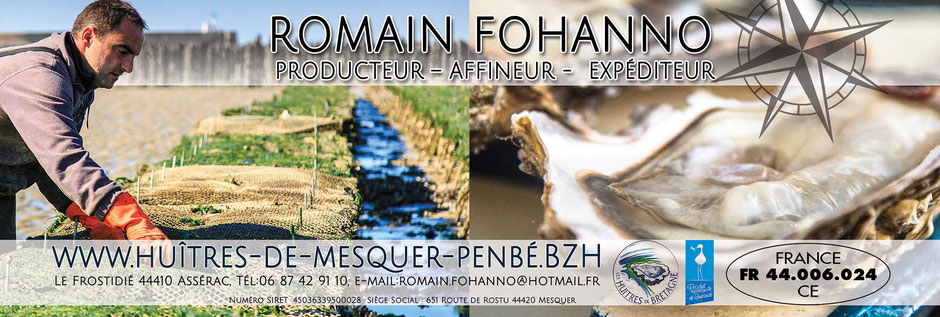 étiquette publicitaire - Bourriche huîtres de Bretagne photographie par nils dessale
