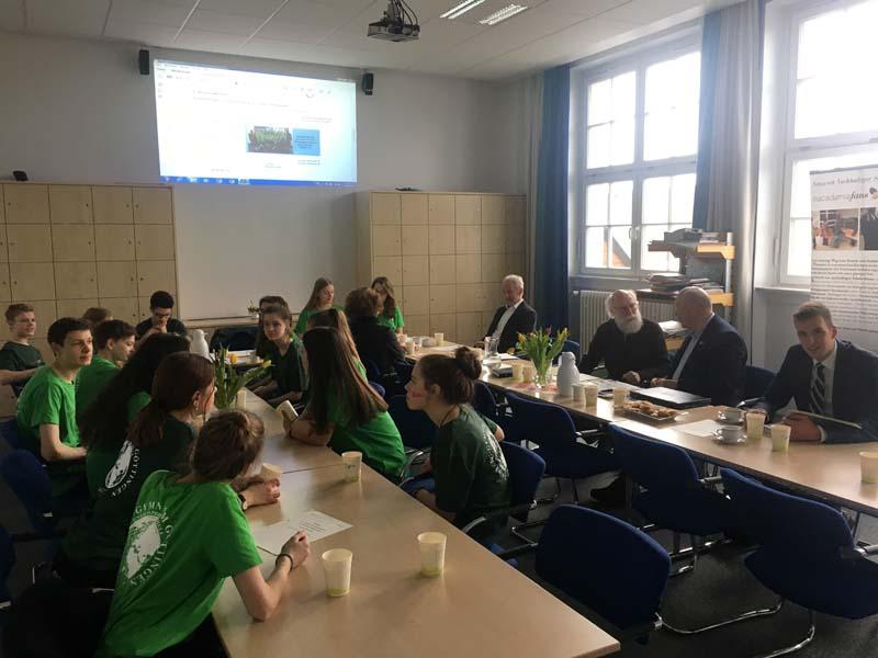 Gründungsversammlung der Nachhaltigen Schülergenossenschaft