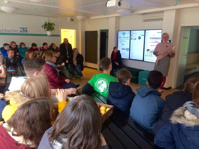 Besuch im InfraLab Berlin auf dem EUREF-Campus