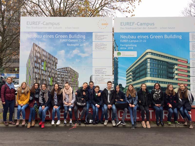 Auf dem EUREF-Campus in Berlin-Schöneberg