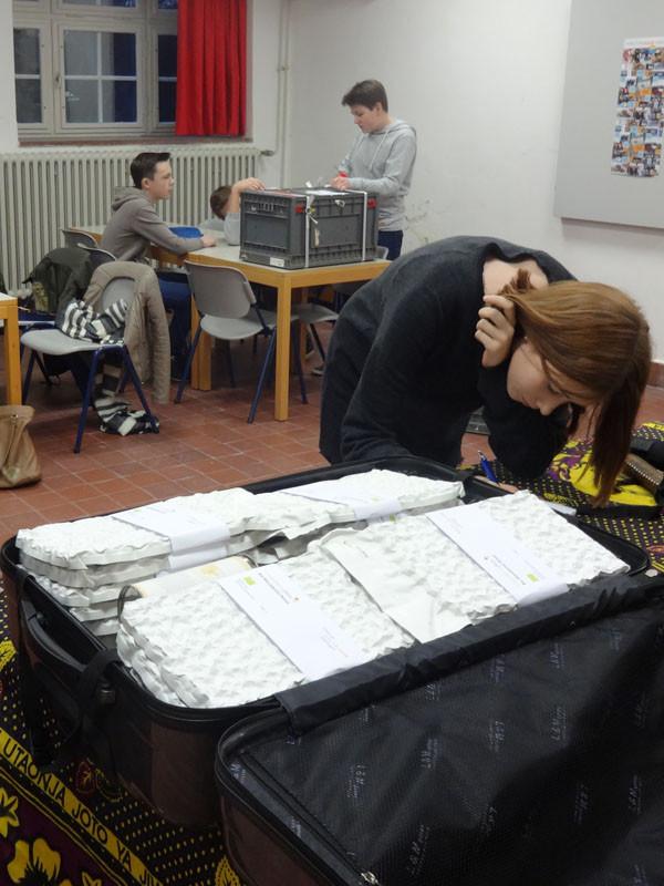 Vorbereitung der Verkaufsaktion