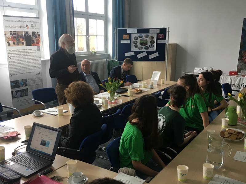 Herr Klüh, Fachkoordinator für Nachhaltige Schülergenossenschaften in Niedersachsen