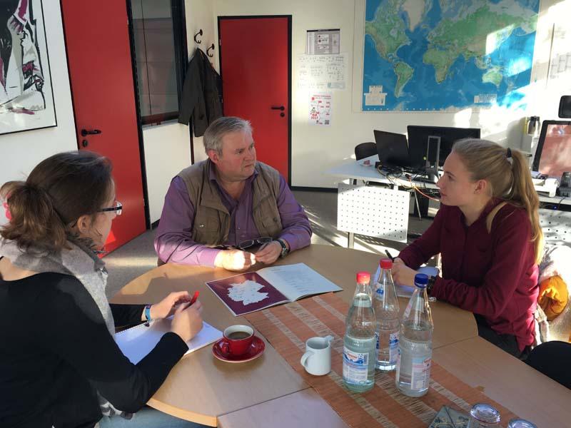 Kooperationgespräch mit Herrn Wüstefeld von CONTIGO