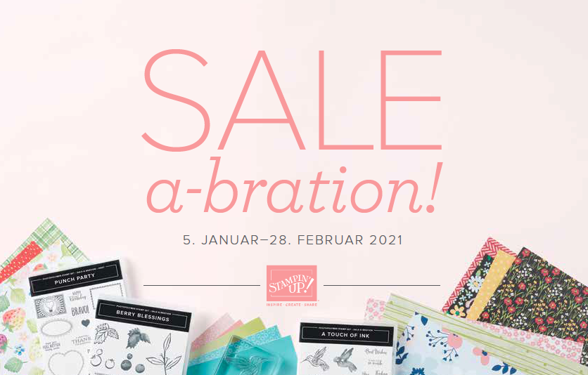 Start der SALE a-bration!