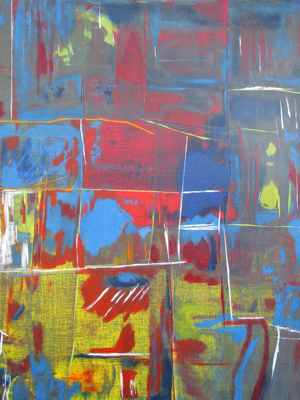 Abstraktes Bild XI 100 x 100 cm