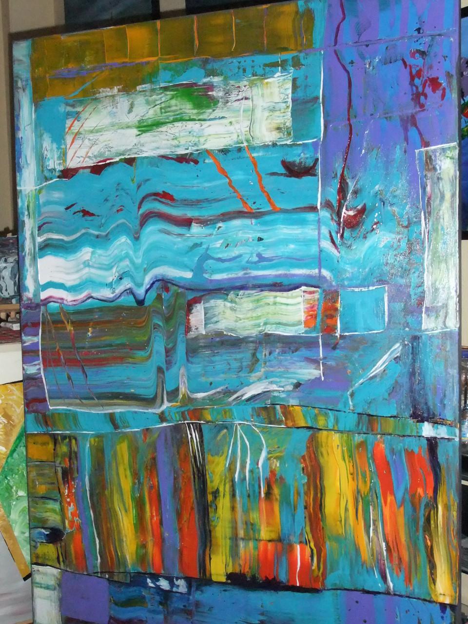 Abstraktes Bild VII 150 x 100 cm
