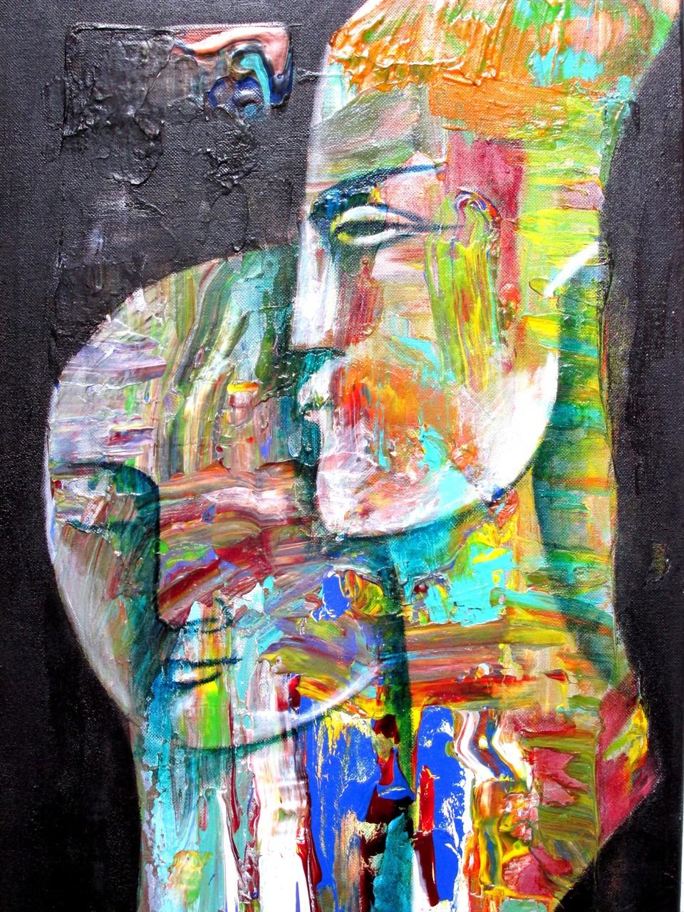 Leon und Leonce 40 x 80 cm