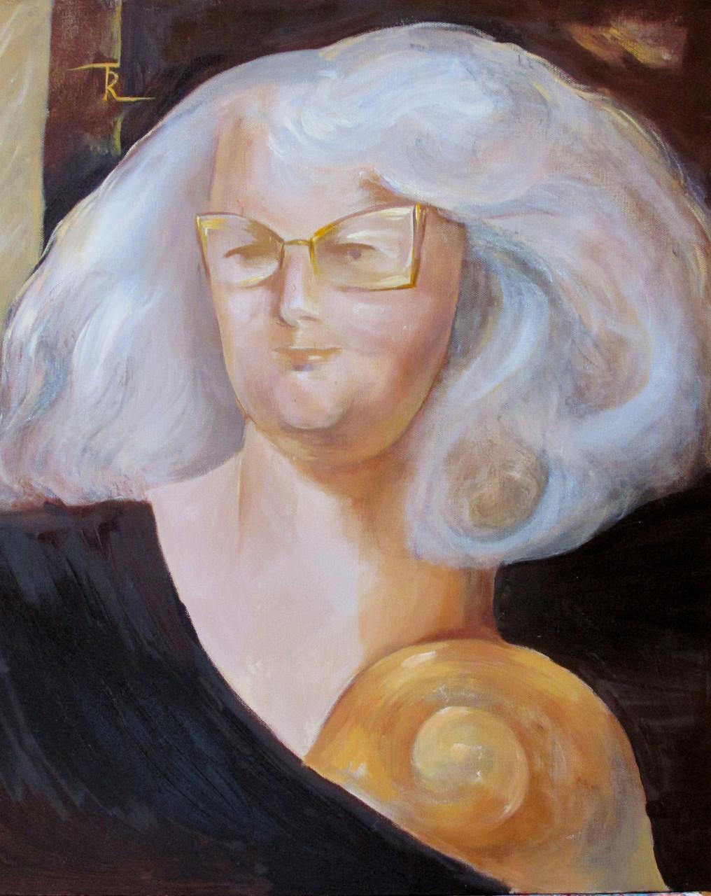 Selbstportrait 60 x 50 cm