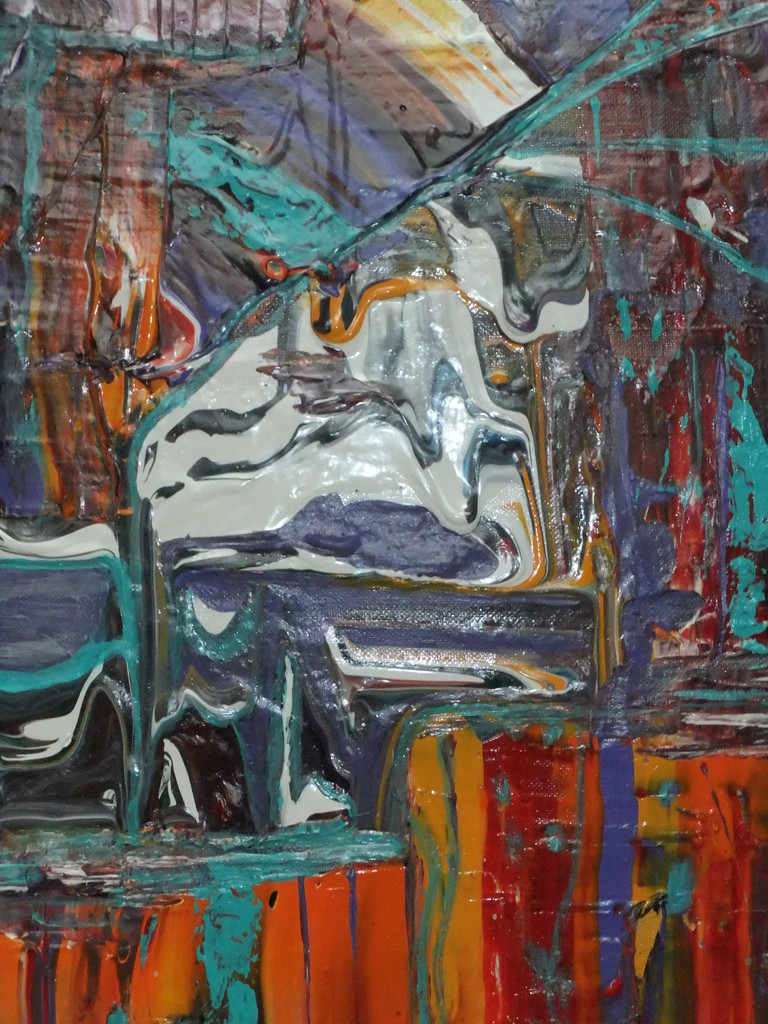 Abstraktes Bild IV 50 x 50 cm