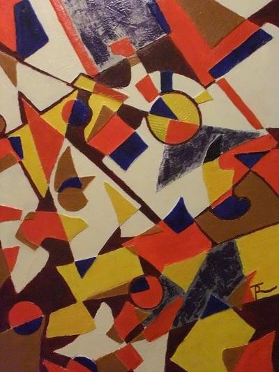 Stückwerk 70 x 100 cm