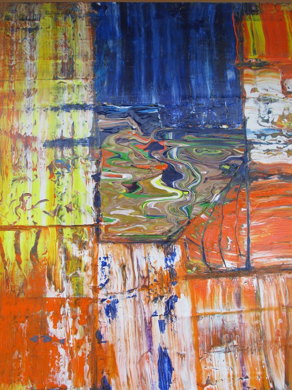 Abstraktes Bild VIII 150 x 100 cm