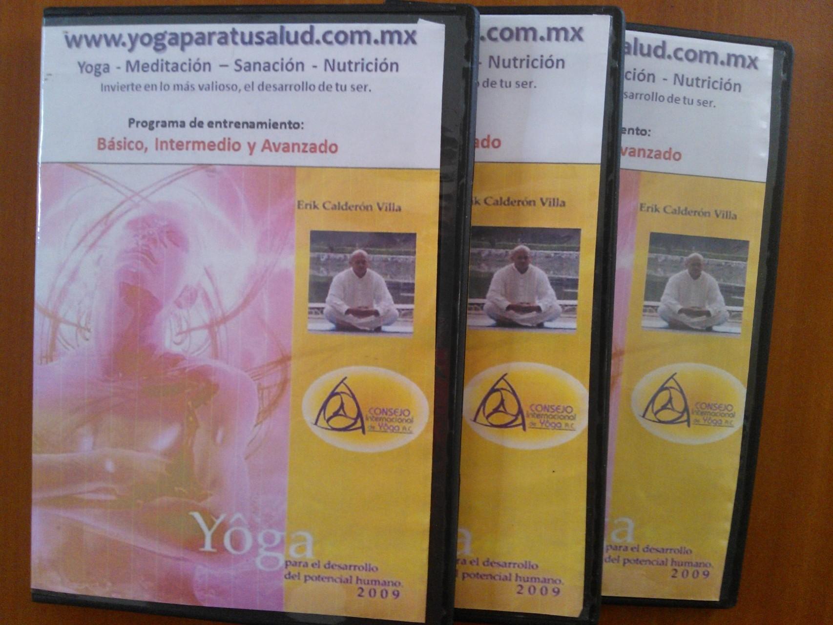 DVD´s Yoga $500, Incluye envío en México.
