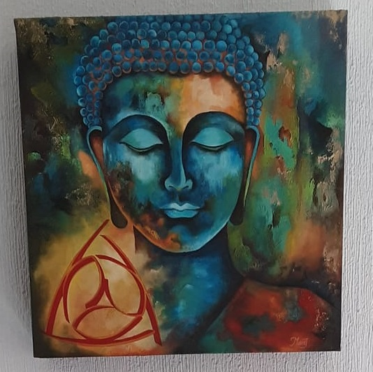 Cuadro de Buda del CIY $1,000 incluye envío (en México)