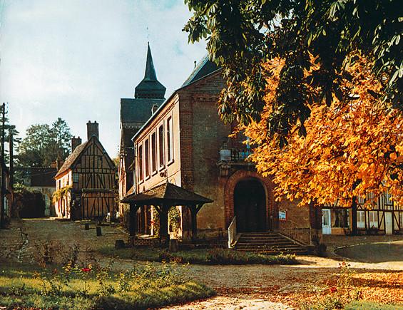 La halle, l'automne…