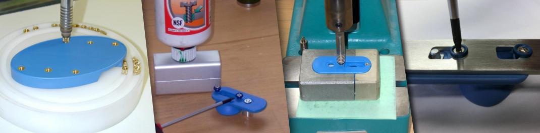 Produktionsschritte bei der Herstellung der ALFA-Flex Fußabduktionsschiene