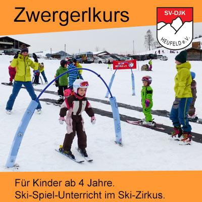 Skikurs für kleine Kinder und Wiedereinsteiger Skikurs für Eltern beim Skiteam Heufeld aus Bruckmuehl..