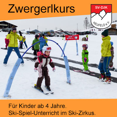 Skikurs für kleine Kinder und Wiedereinsteiger Skikurs für Eltern beim Skiteam Heufeld aus Bruckmühl..