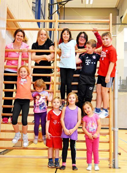 Skigymnastik in der Justus von Liebig Schule Heufeld