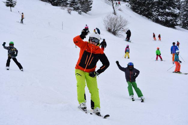 Skikurs fuer Kinder und Erwachsene 2017