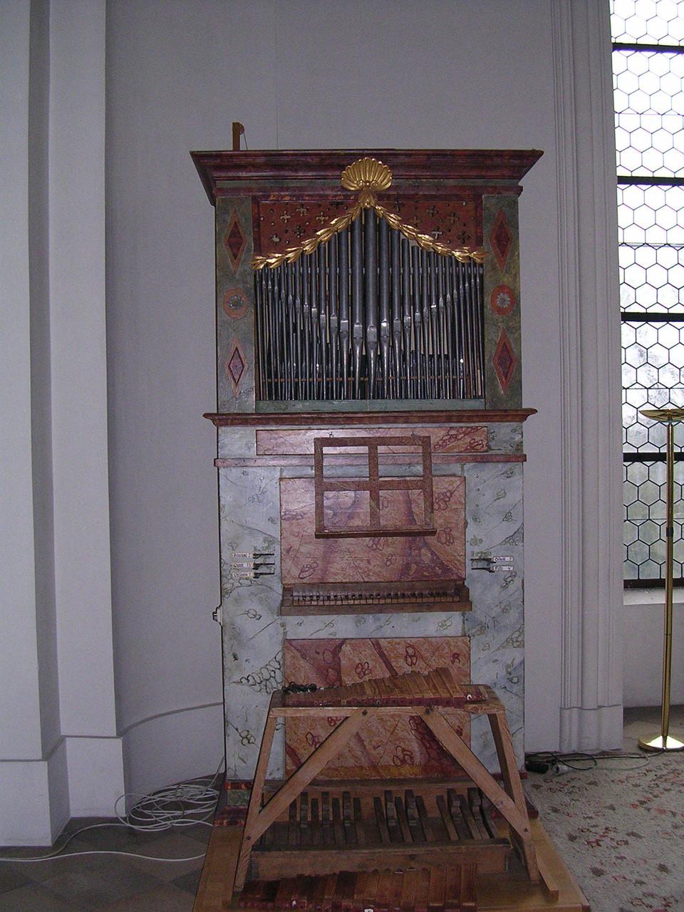 Niederalteich, Ehrlich-Orgel 1840, I/5, Restauration