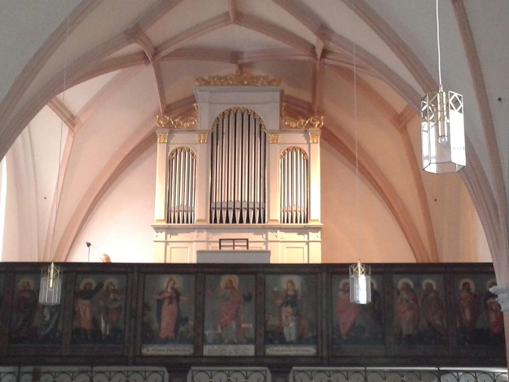 Vilshofen Friedhofskirche, Edenhofer-Orgel, I/12, Generalüberholung