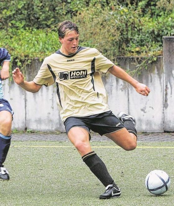 1. August 2005: Schieber im B-Jugend-Spiel der TSG Backnang gegen Pforzheim   Foto. Edgar Layher