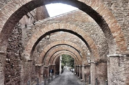экскурсия по средневековому Риму