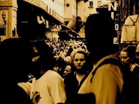 Crowds, Ponte Vecchio