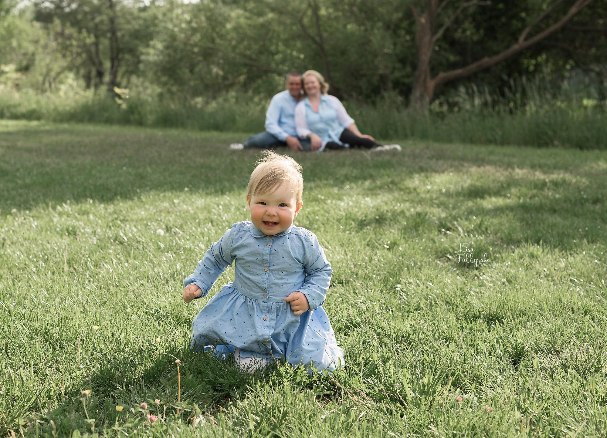 Familien-Mini-Shooting am Teich