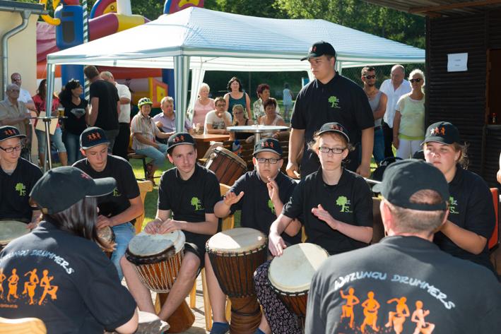 Die Wazungu Drummers