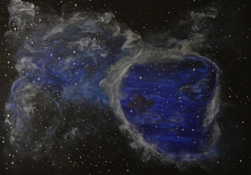 Blaue Galaxie