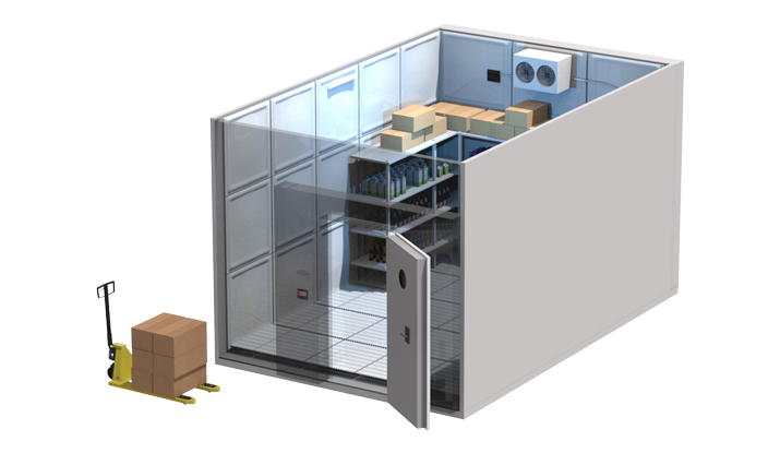 Kühlzelle, Kühlraum, Industriekühlung