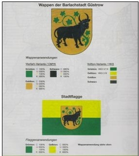 Das Wappen der Barlachstadt Güstrow